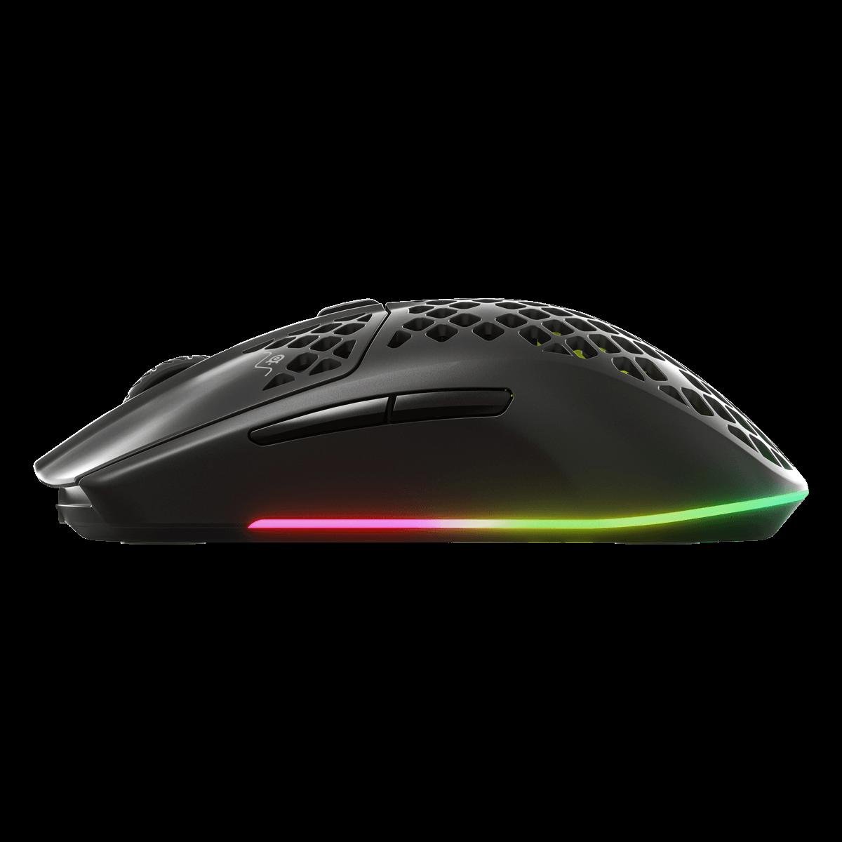 SteelSeries Aerox 3 超輕量無線遊戲滑鼠