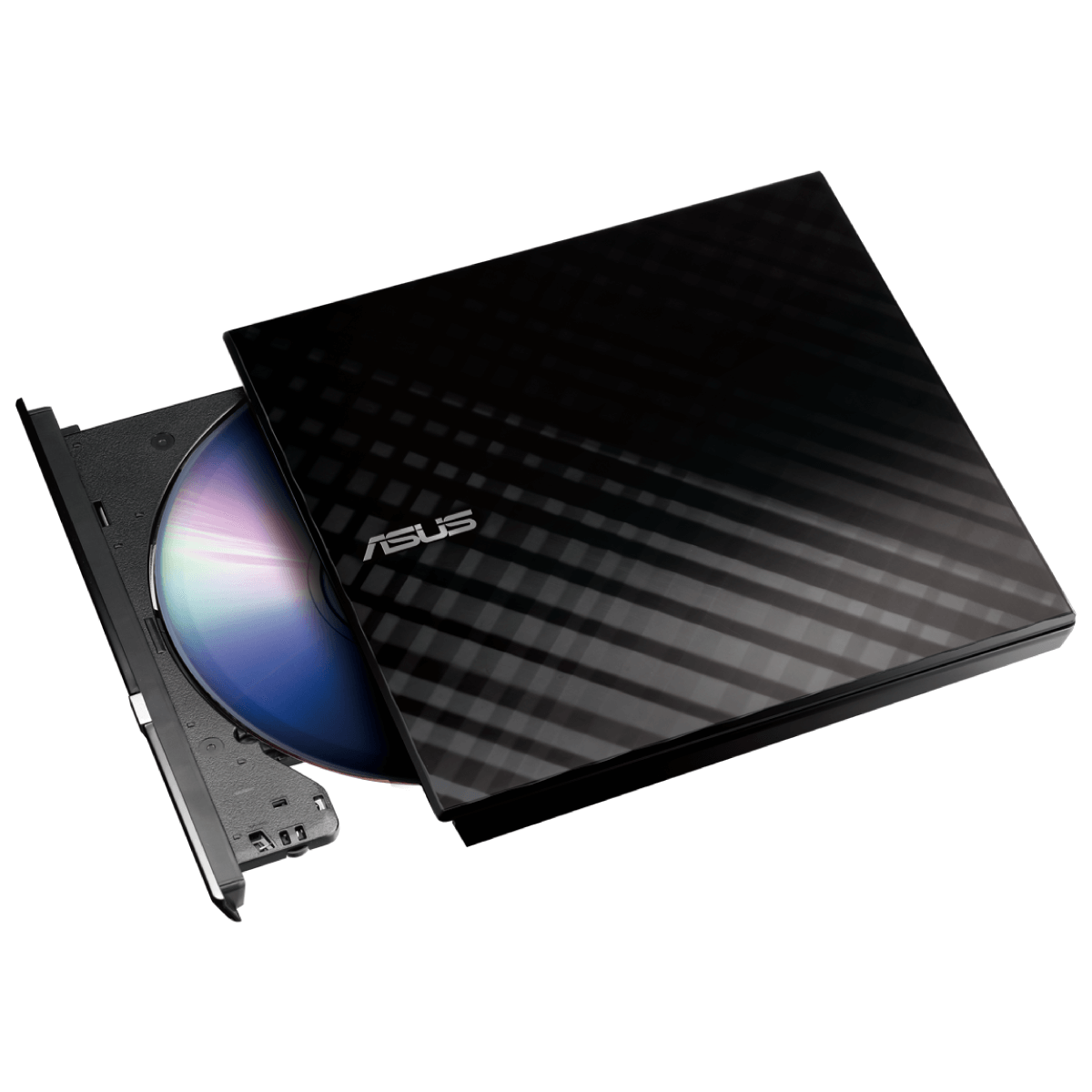 ASUS 8X External Slim DVD Writer (Black)