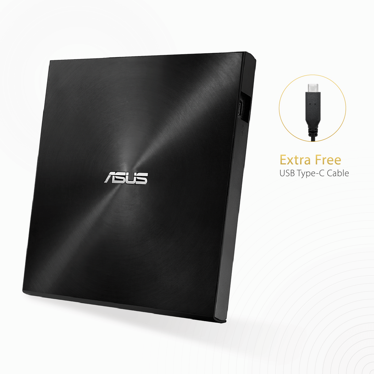 ASUS ZenDrive U9M External DVD Writer (Black)
