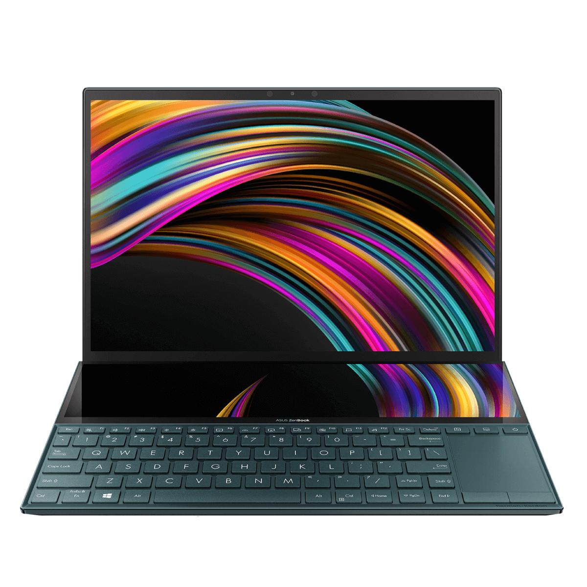 ASUS ZenBook Duo (i7, Celestial Blue)