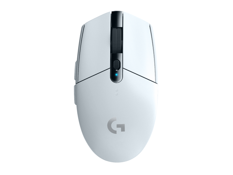 Logitech G304 Wireless Gaming Mouse - Snow White