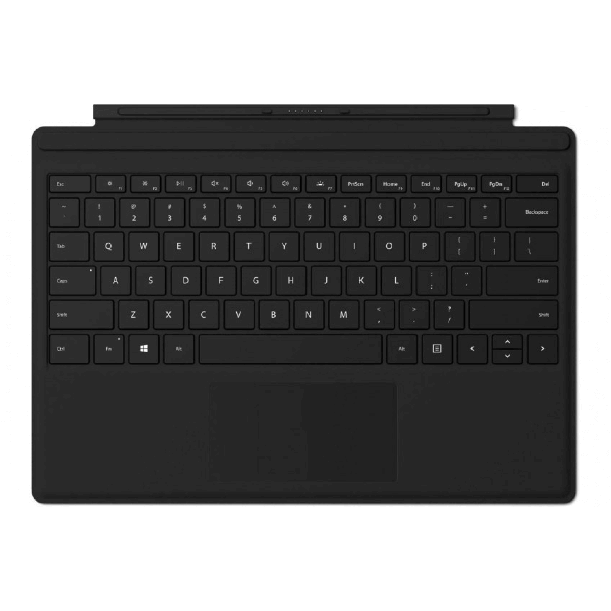Microsoft® Surface Pro Type Cover Commercial, BLACK, English