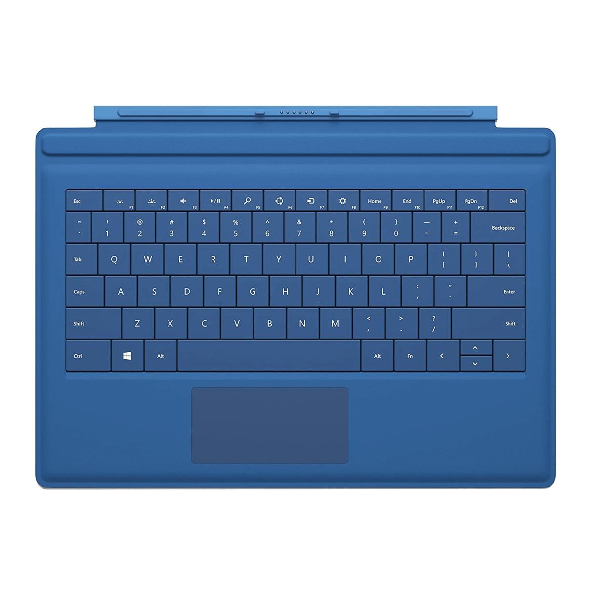 Microsoft Surface Pro 3 Type Cover (English, Cyan)